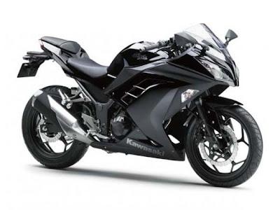 nova Ninja 250 2013 preta