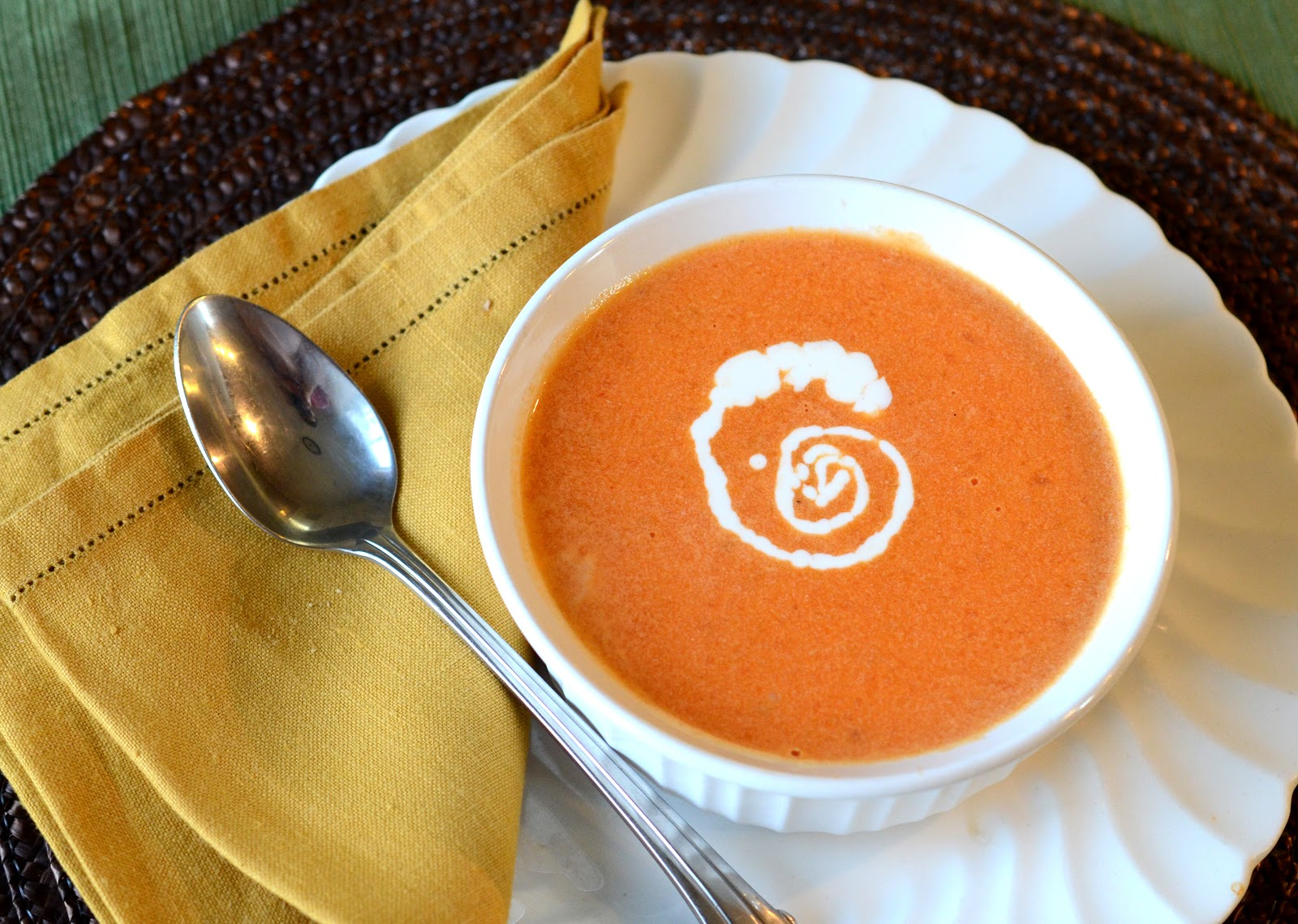 Simple Cream of Tomato Soup - Bless This Mess