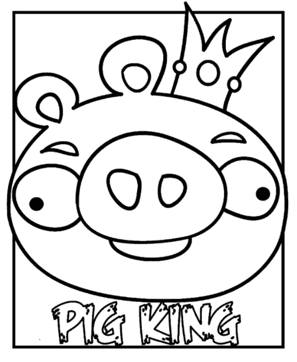 Free Coloring Pages Of Angry Bird Hero