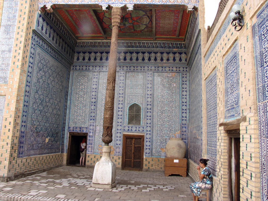 Uzbekistán, Khiva - Palacio Tosh Hovli