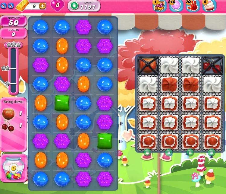 Candy Crush Saga 1197