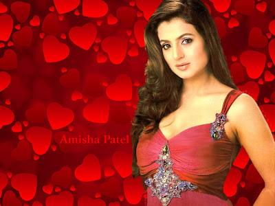 Amisha Patel HD Wallpaper 2012
