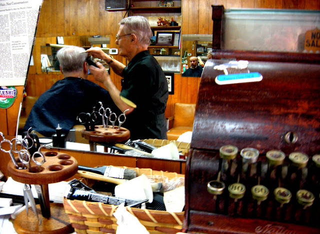 Barber Shop Philadelphia : visit to Joes Barber Shop is like stepping back into a Saturday ...