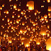 Yi Peng(northern of thailand called) or Loy Krathong Festival in Chiang Mai.