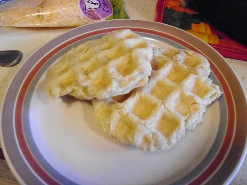Flatbread waffles plain