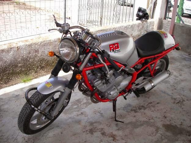 Yamaha Xj 600 Cafe Racer 99garage Cafe Racers Customs