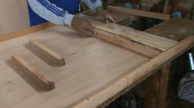 Como hacer una puerta de madera paso a paso imagui - Como barnizar una puerta de madera ...