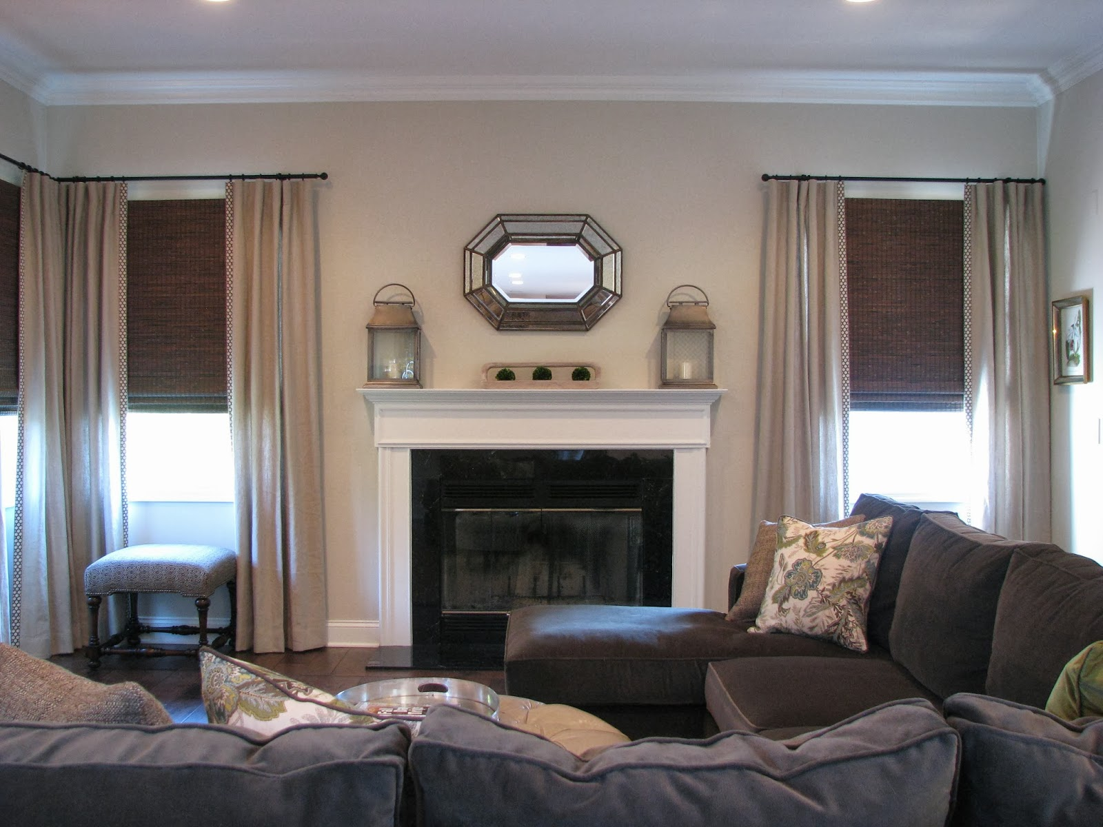 Denise Briant Interiors A Clients Family Room Before And