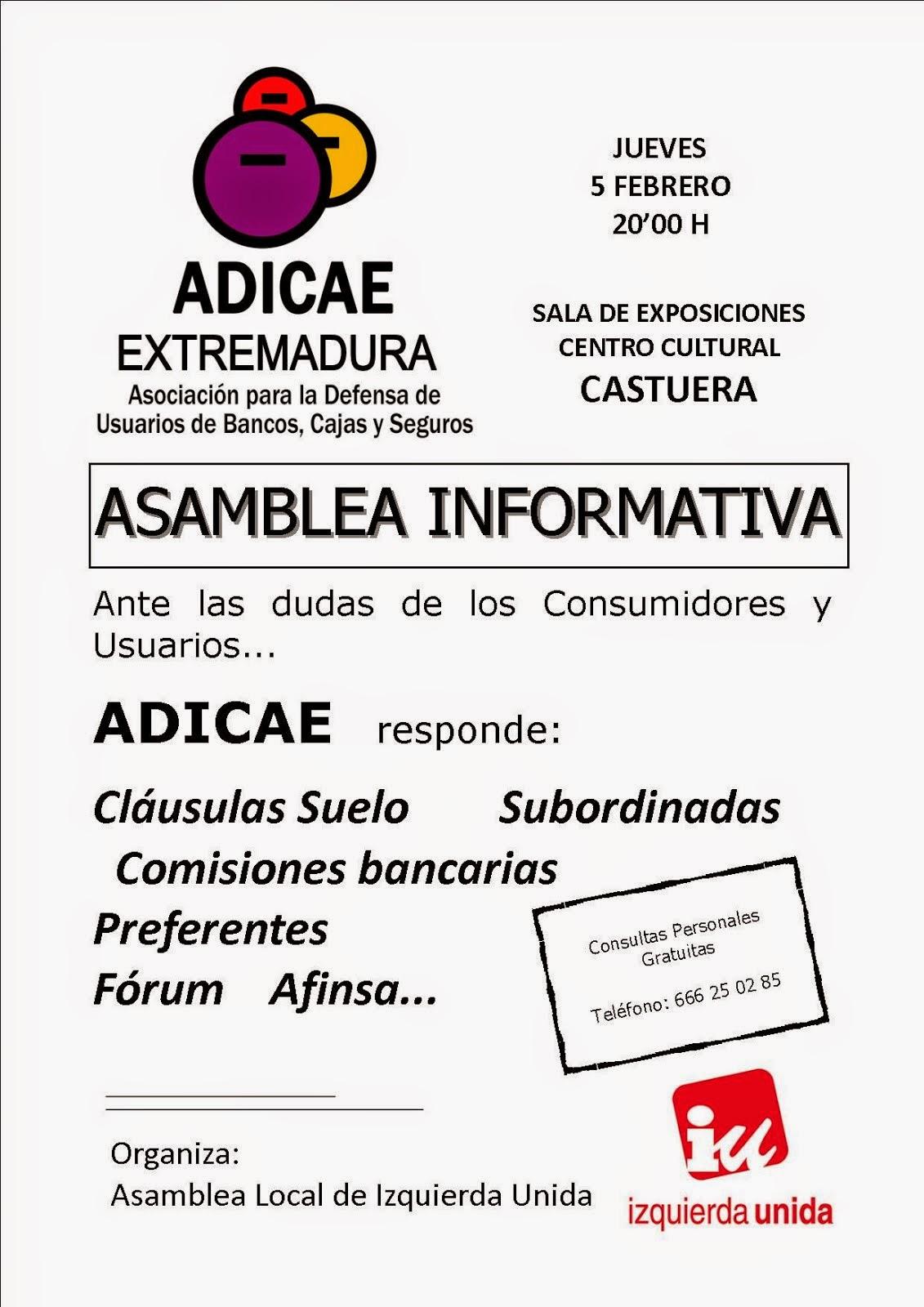 Asamblea Informativa de ADICAE