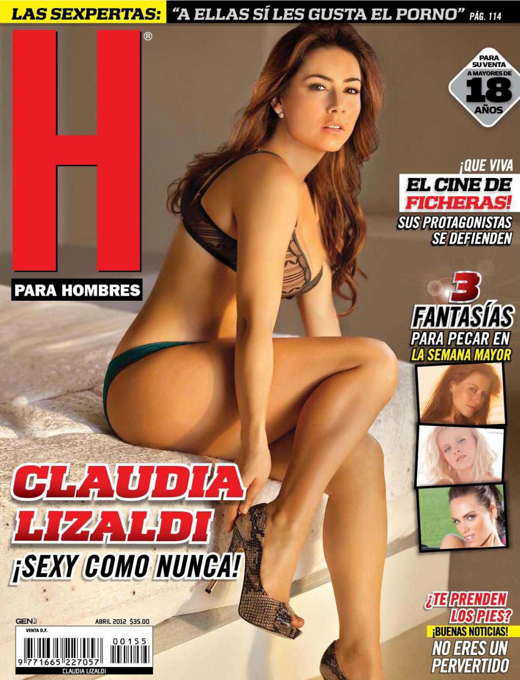 Gwen García - Revista H Para Hombres México - Marzo 2015