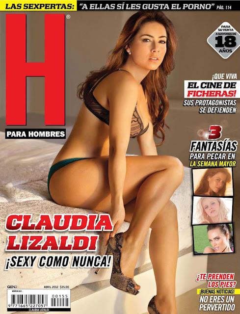 Fotos Claudia Lizaldi Revista H para Hombres Abril 2012