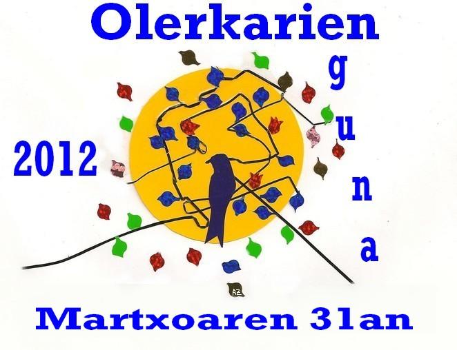 Olerkarien eguna 2012