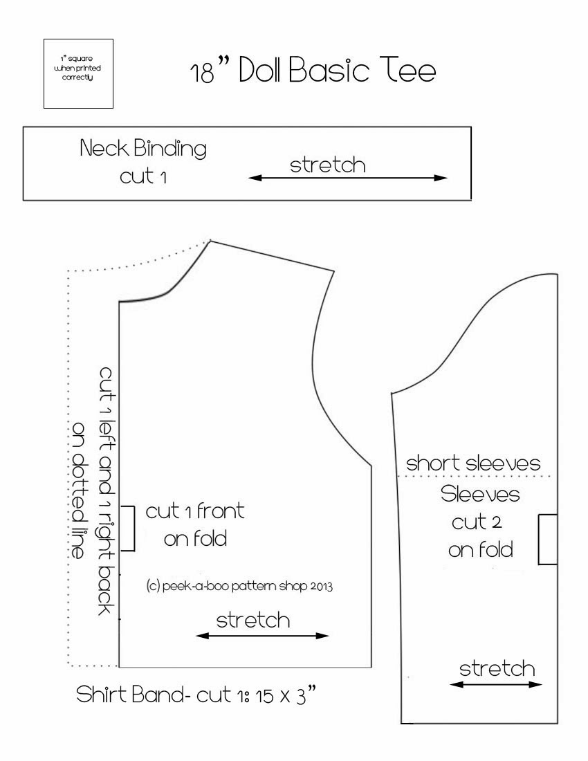 This is a photo of Exhilarating Free Printable 18 Inch Doll Clothes Patterns