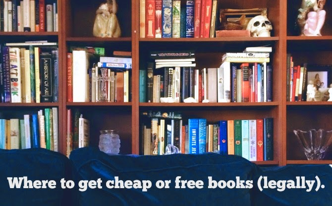 The legal way to read cheap or free books.