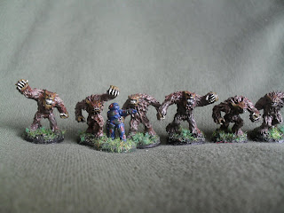 Twanax Horde by Blue Moon Manufacturing and GZG UNSC Marine