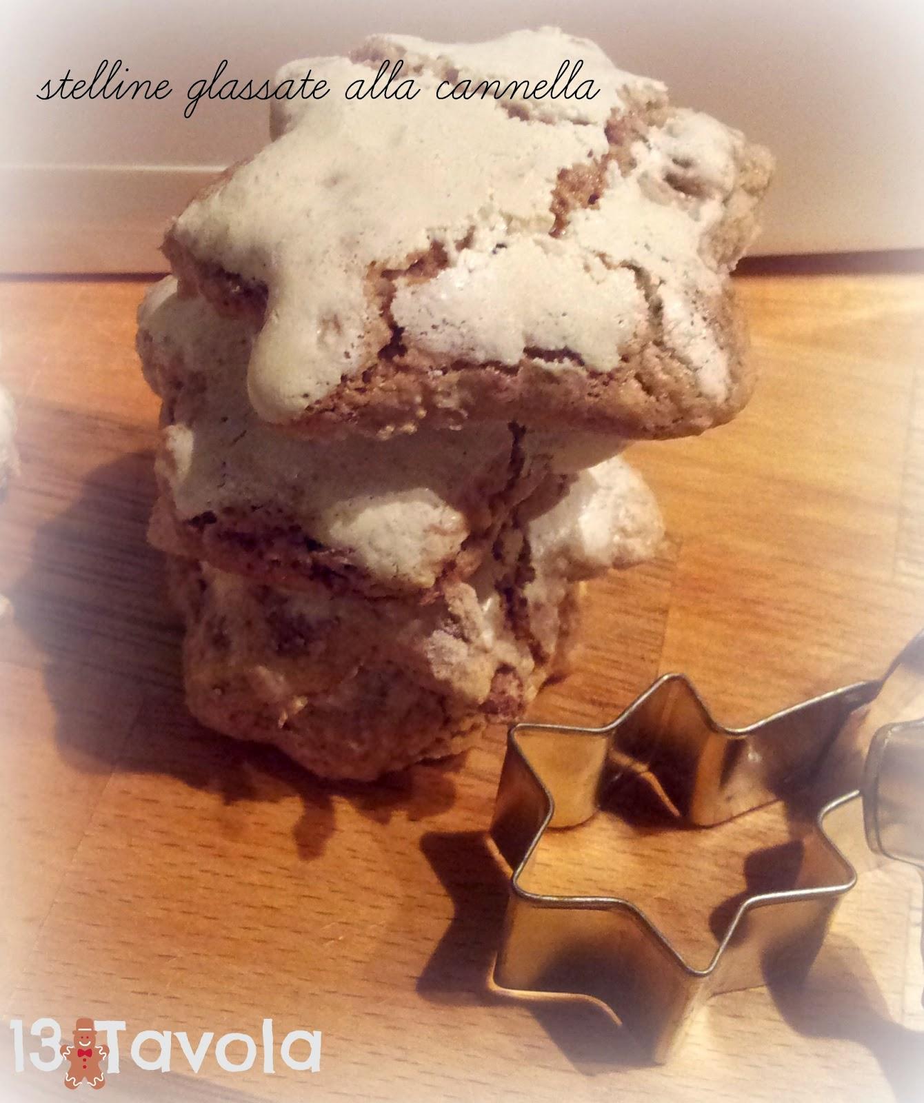 stelline di cannella per i biscotti di natale