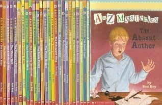 A to Z MYSTERIES bookcovers