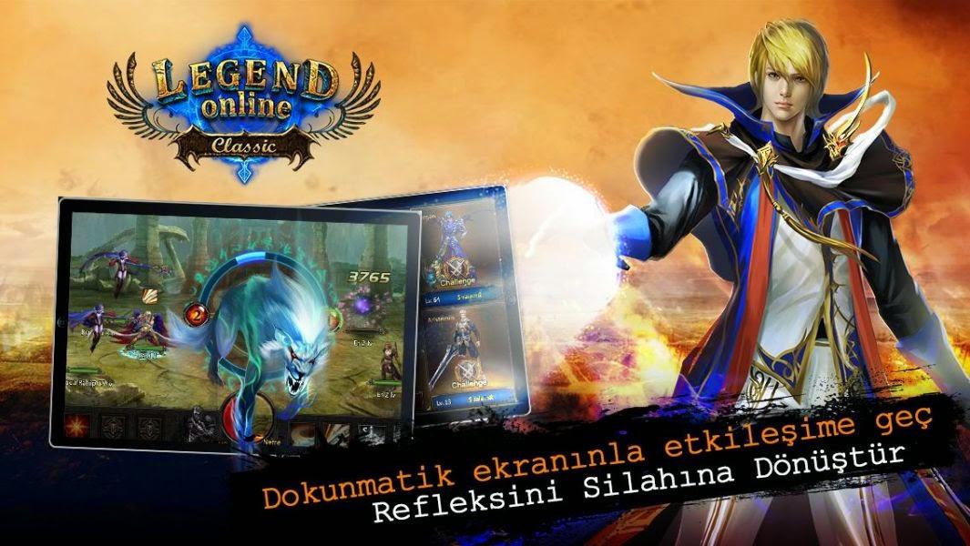 Legend Online Classic Hile Apk