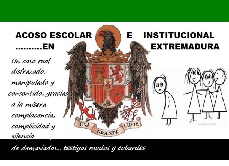 ACOSO ESCOLAR E INSTITUCIONAL EN EXTREMADURA