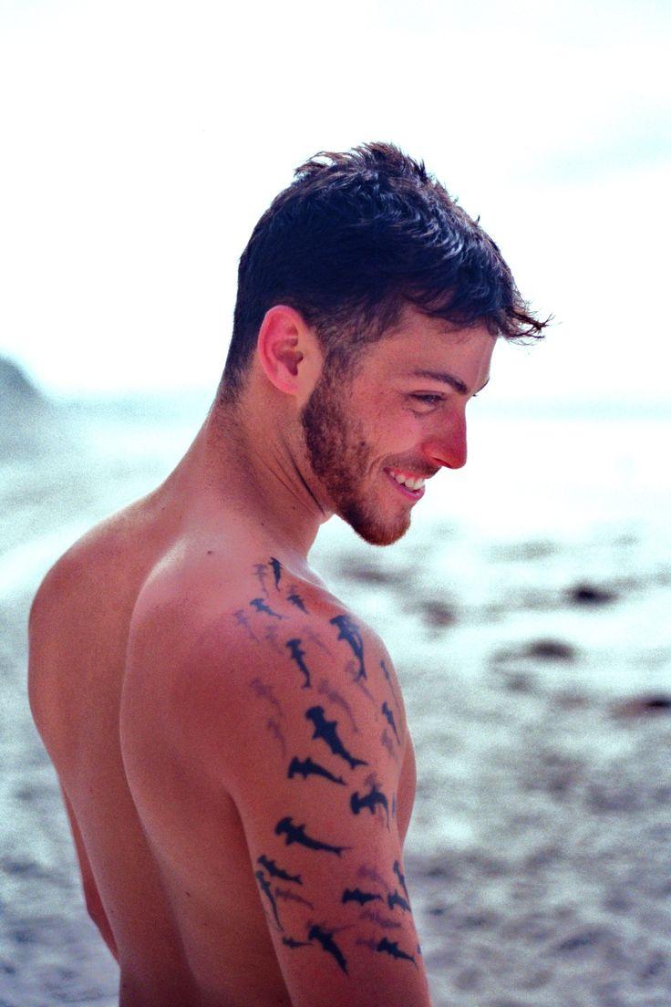 Tatuaje de Tiburónes para hombres