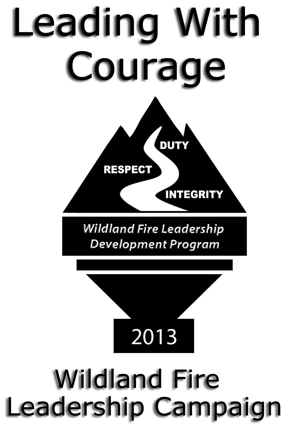 2013 Leading with Courage campaign logo