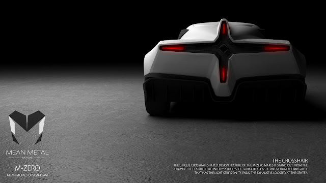 Marcelo Aguiar Mean Metal Motors M-Zero render rear