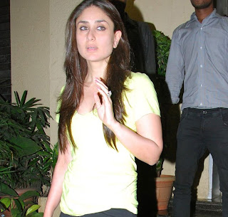 Kareena Kapoor spotted with saif's son