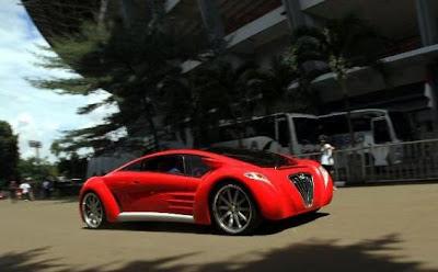 Mobil Listrik Tucuxi karya anak bangsa