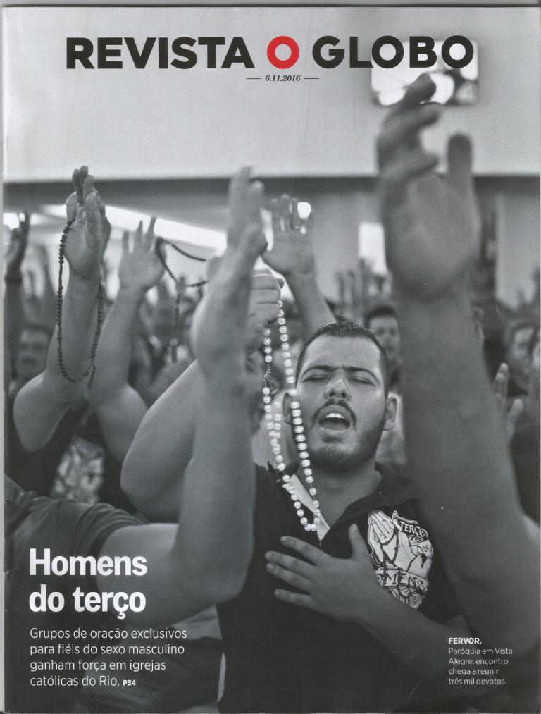 GRUPO DE TERÇO DOS HOMENS DA ARQRIO É O MAIOR DO BRASIL REVELA O GLOBO