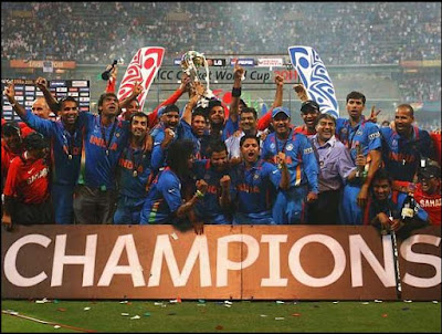 india wins icc world cup 2011