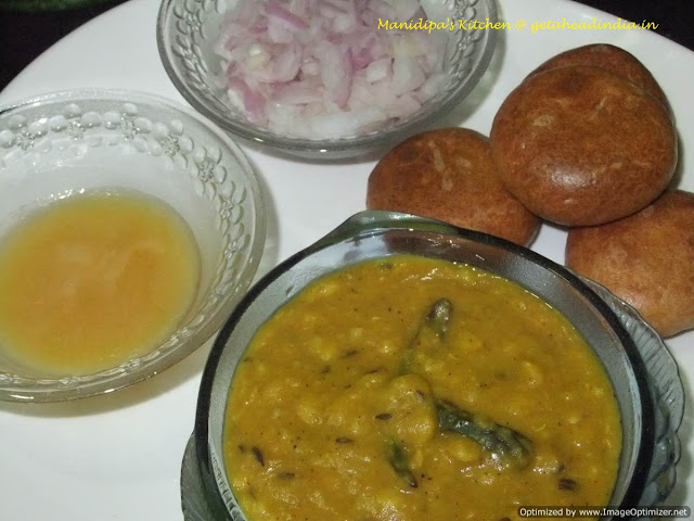 How to make dal bati recipe
