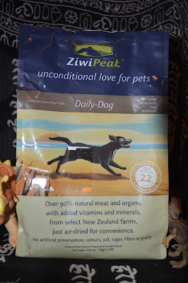 a very different kind of dehydrated raw dog food