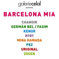 12/09/2015 Barcelona Mia / Celal Gallery / / Group show / Paris 2015