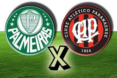 Palmeiras e Atlético paranaense se enfrentam pelas oitavas de final da Copa do Brasil 2013.