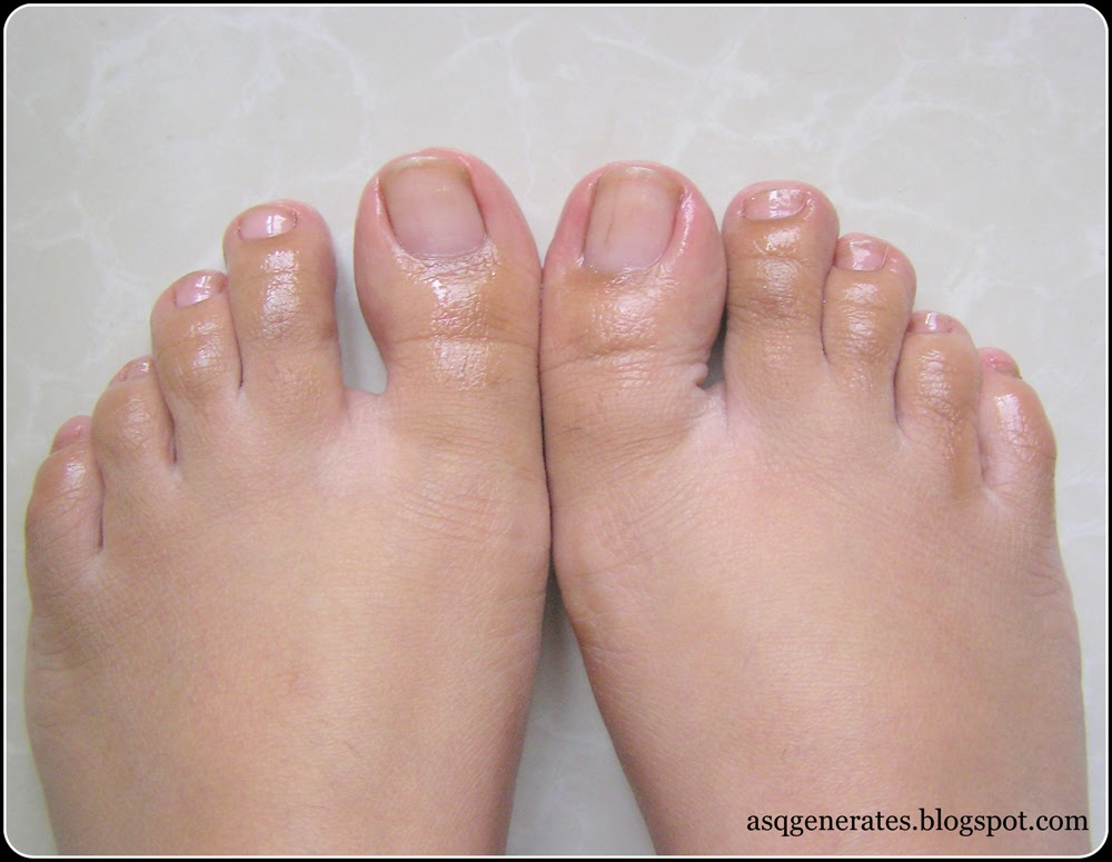 How To:Pedicure step 3