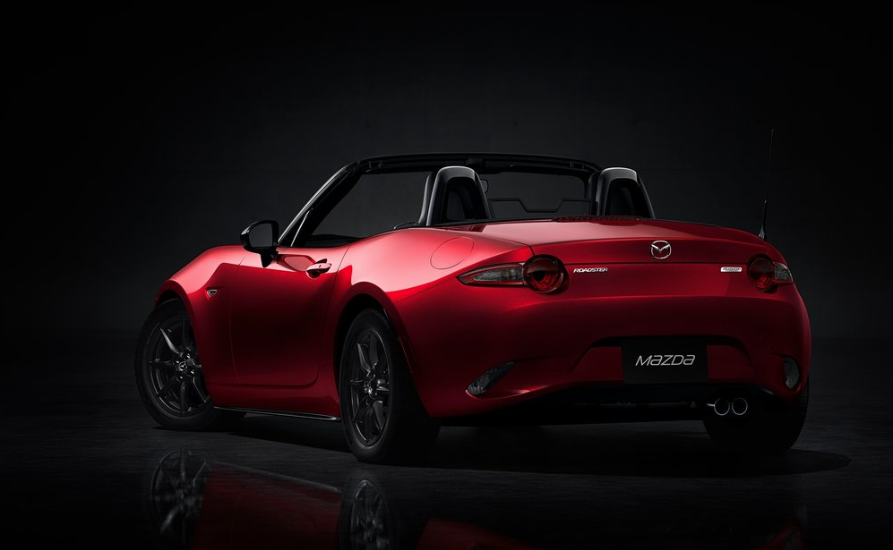 2016 Mazda MX-5 Miata red rear