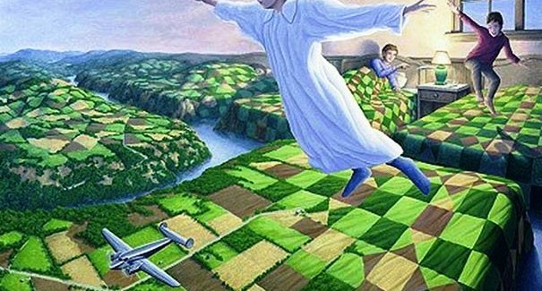 Fantastic Optical Illusion Paintings By Rob Gonsalves