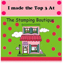 Top 3 at The Stamping Boutique Challenge Blog