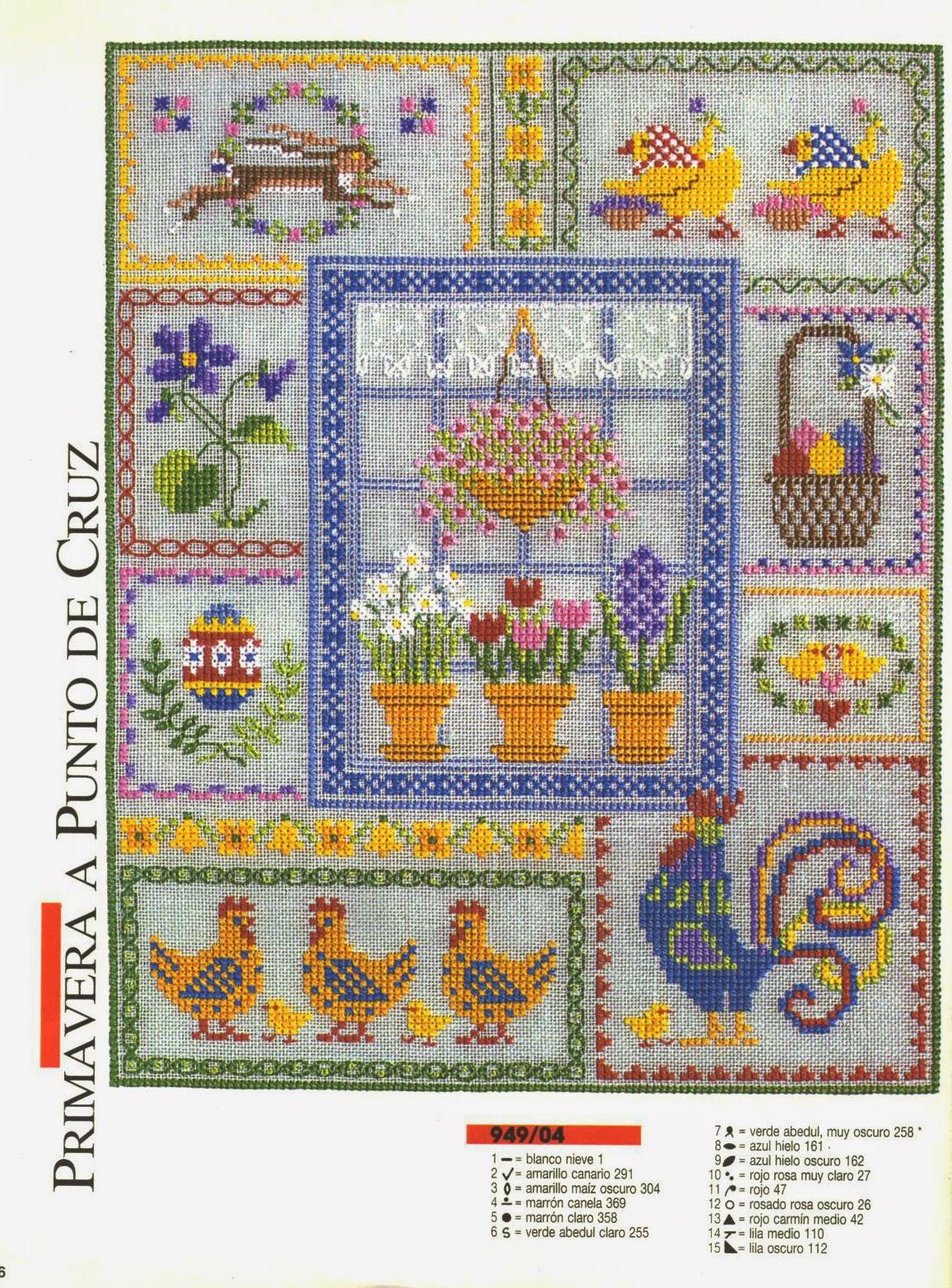 Журнал бурда вышивка крестом схемы 9