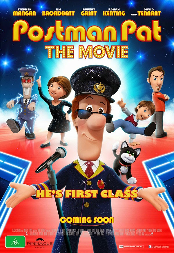Postman Pat: The Movie (2014) Poster