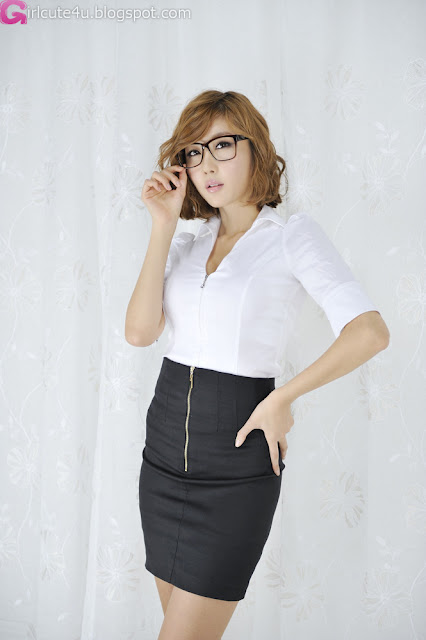 Choi-Byul-I-BW-Office-Lady-03-very cute asian girl-girlcute4u.blogspot.com