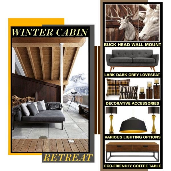 I'm not an outdoorsy type, but I have always dreamed of having a chic little cabin in the woods. I would imagine if I owned a cabin I would decorate it with a more modern and slightly masculine edge with hints of traditional rustic touches. It would be a beautiful rustic retreat that perfectly suits my sensibilities.