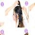 Cute Headband Braid Messy Bun Hairstyle Design Tutorial