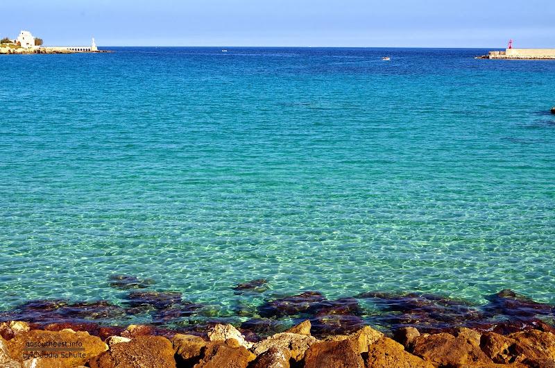 Das Meer in Otranto im Oktober (Apulien)