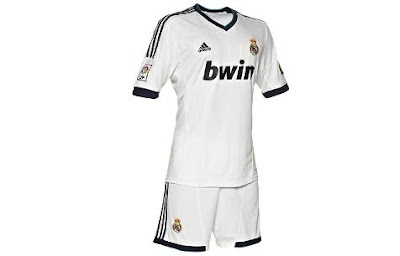 new home jersey real madrid