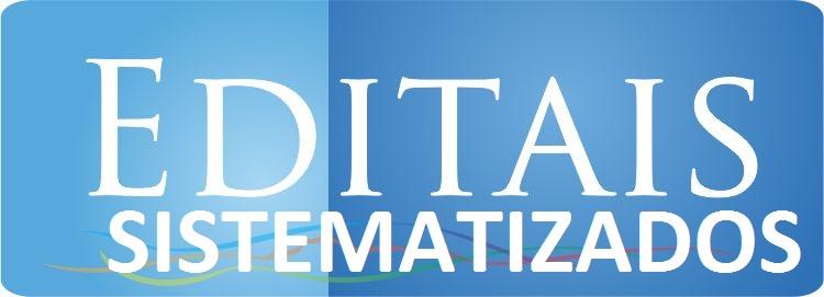 EDITAIS SISTEMATIZADOS