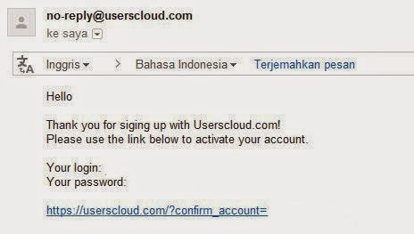 Cara Mendaftar Userscloud Unlimited File Hosting Gratis