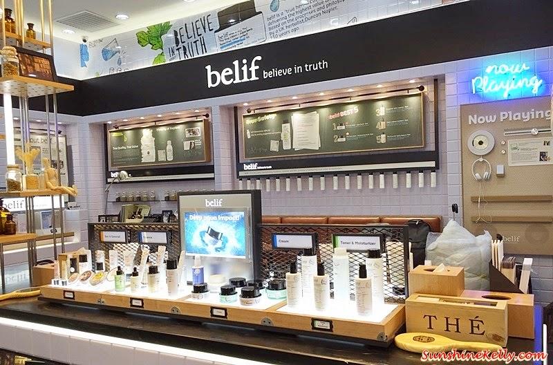 Belif in Malaysia, Sunway Pyramid, Belif skincare, Belif, Korea skincare