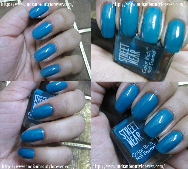 Street wear Nail paint in Oceanic Blue