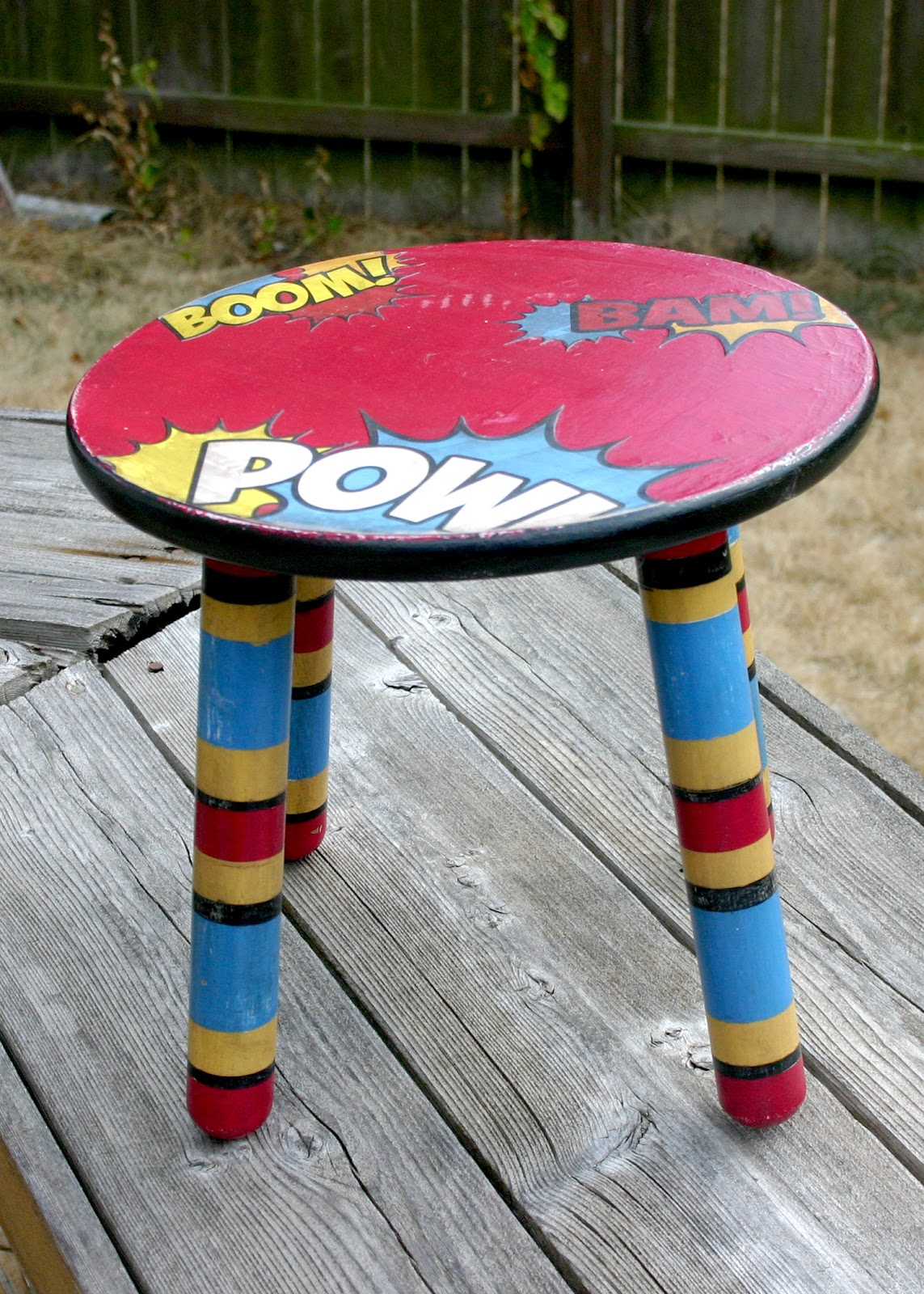 superhero chair